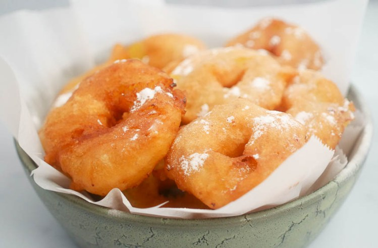 Glutenvrije appelbeignets | Foodaholic.nl