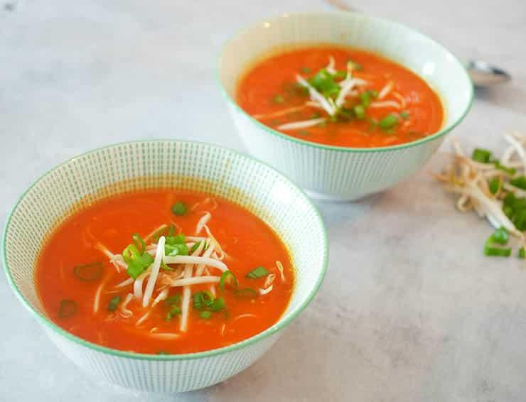 Chinese tomatensoep | Foodaholic.nl