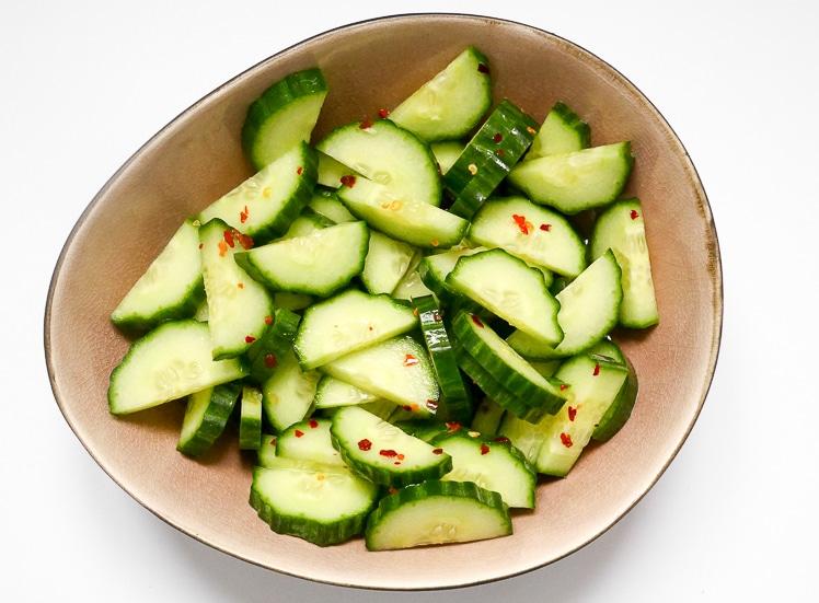 Zoetzure komkommer | Foodaholic.nl