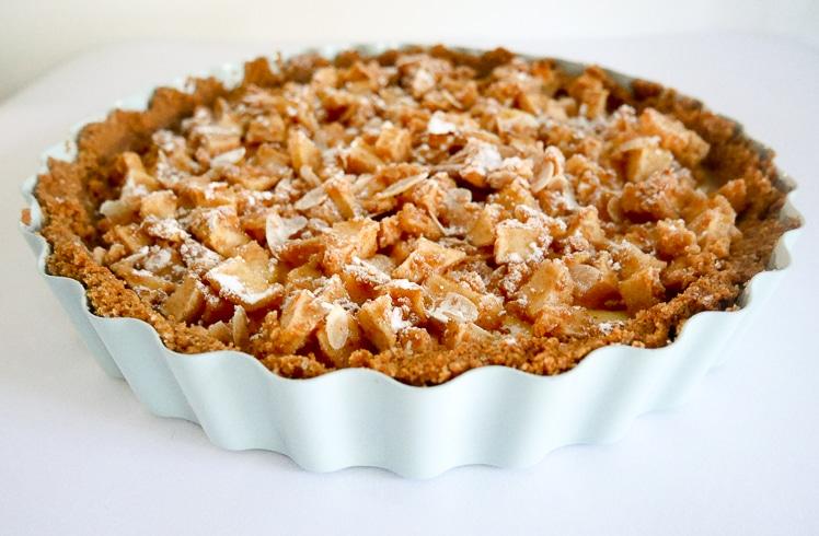 Appel- kaneel cheesecake | Foodaholic.nl