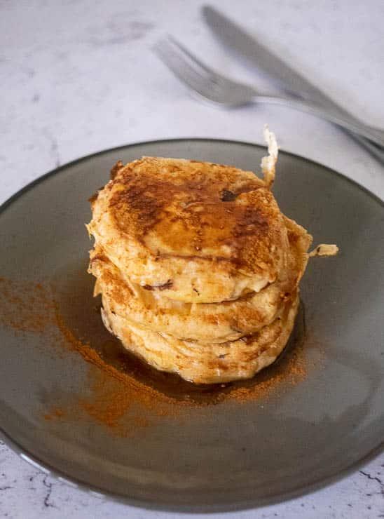 Appel pancakes | Foodaholic.nl