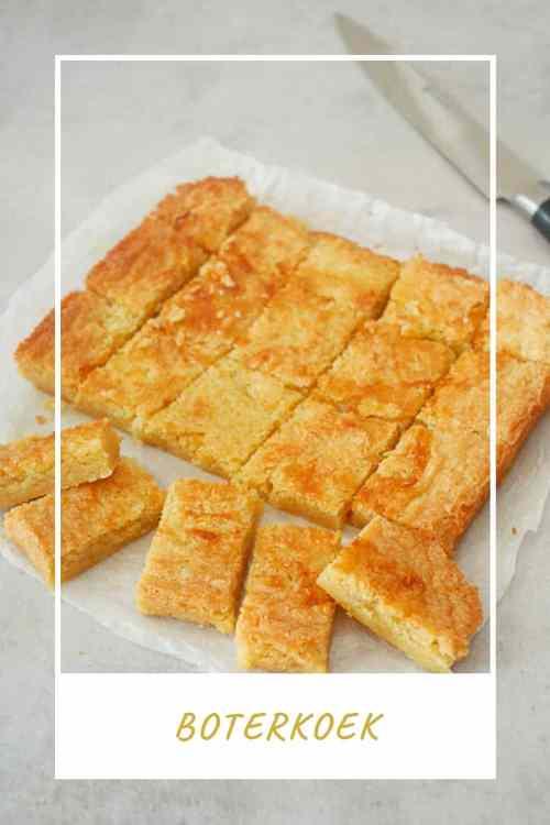 Boterkoek - Pinterest | Foodaholic.nl