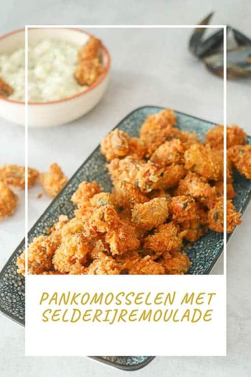 Pankomosselen met selderijremoulade | Foodaholic.nl