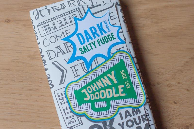 Johnny Doodle Dark Salty Fudge