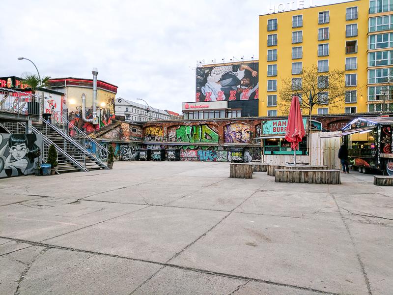 Berlijn - RAW gelände