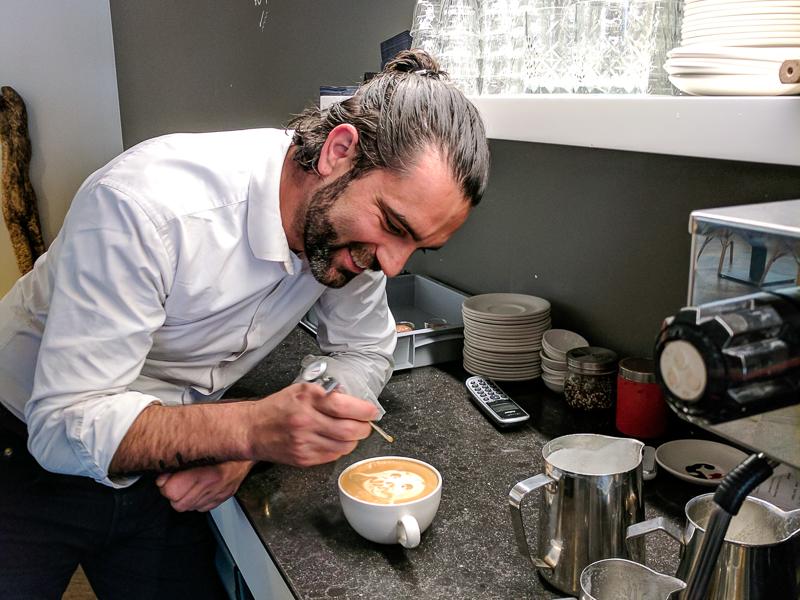 De beste koffie van Den Haag - Hop & Stork Latte Art