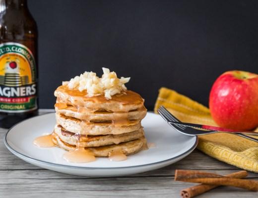Appelpancakes met cidersiroop