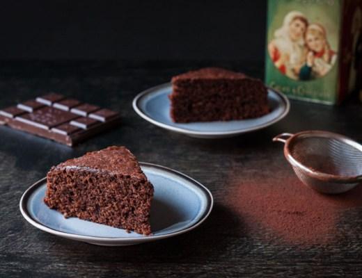 chocolade-sinaasappelcake