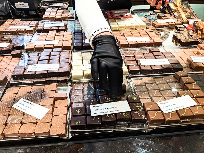 Chocolade in Den Haag