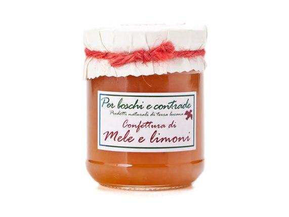 confettura extra di mele e limoni marmellata di mele e limoni boschi e contrade confettura italiana marmellata italiana basilicata lucania