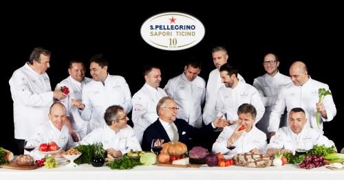 Foto ufficiale S.Pellegrino Sapori Ticino 2016
