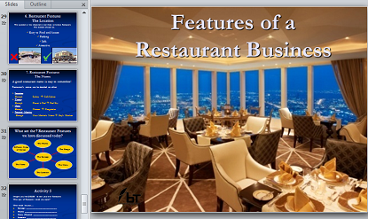 Features of the Restaurant Business