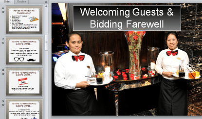 Guest Service Training