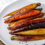 Sous Vide Honey Butter Glazed Carrots