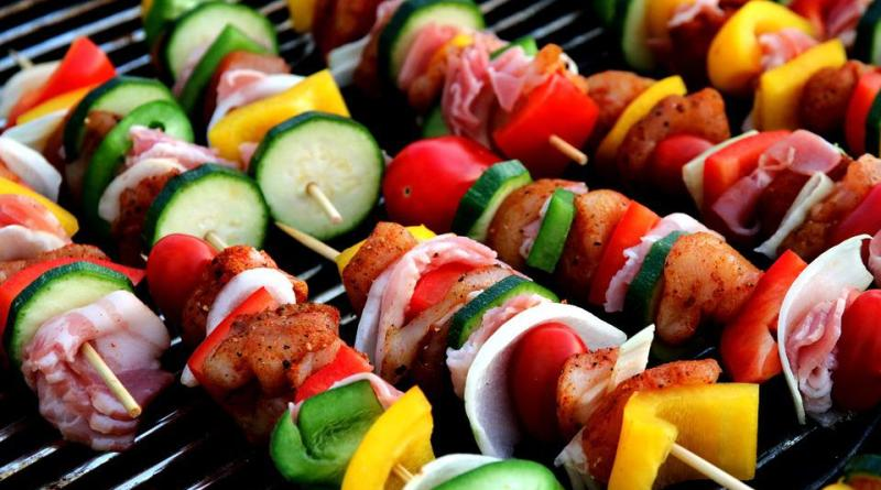 cooked or raw vegetables