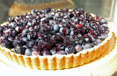 Food from the World: Blueberry and Lime Tart