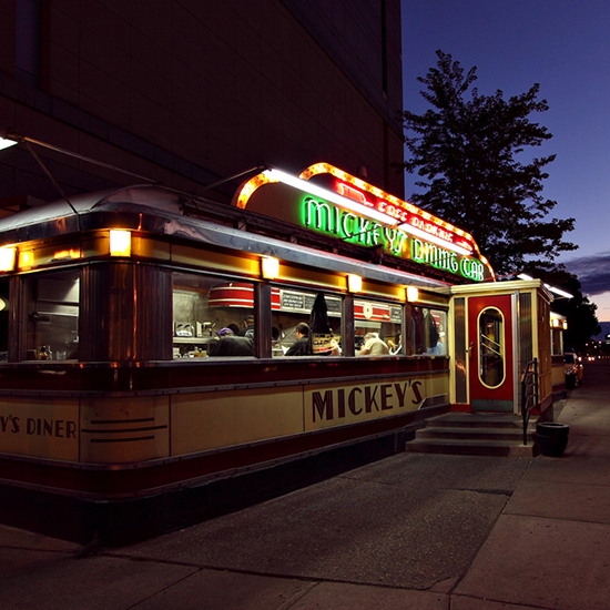 Mickey's Dining Car - St. Paul, Minnesota