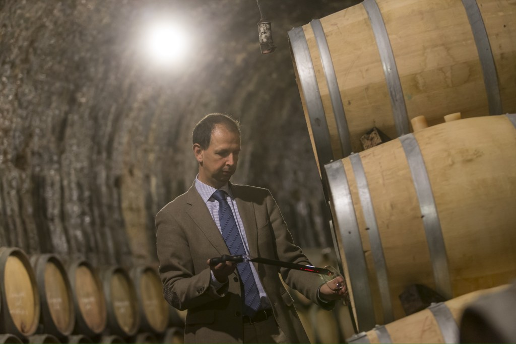 Inside the cellars of Grafé Lecocq in Namur: A winemaker like no other