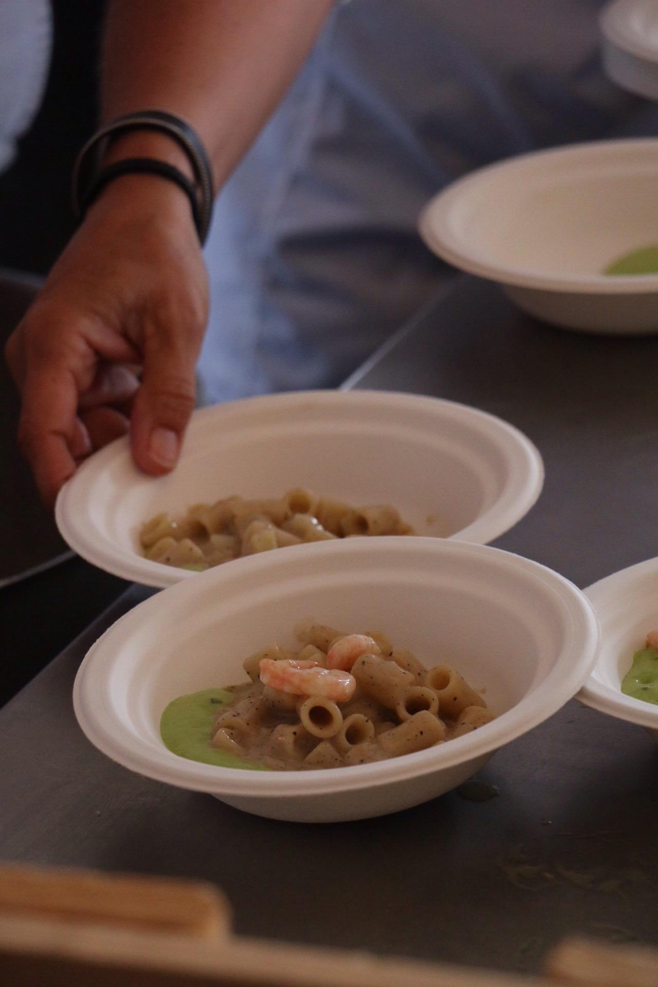 Recipe (Heinz Beck): Gnochetti with smoked potato, peas and