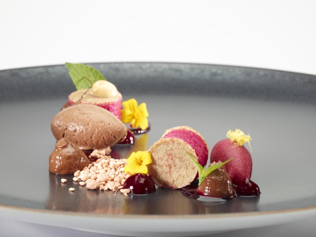 Hof van Cleve_chocolate dessert