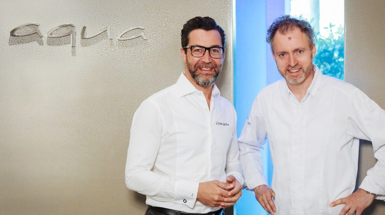 Cooking up a friendship – Sven Elverfeld and Quique Dacosta cook together for first time