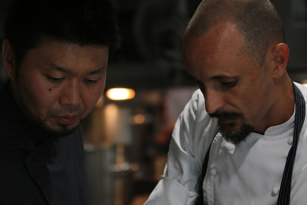 A perfect meal: Enrico Crippa reflects on collaboration dinner with Zaiyu Hasegawa