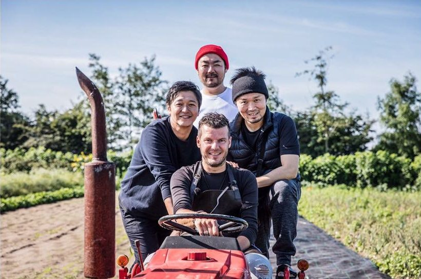 Three top Japanese chefs to cook at Hertog Jan