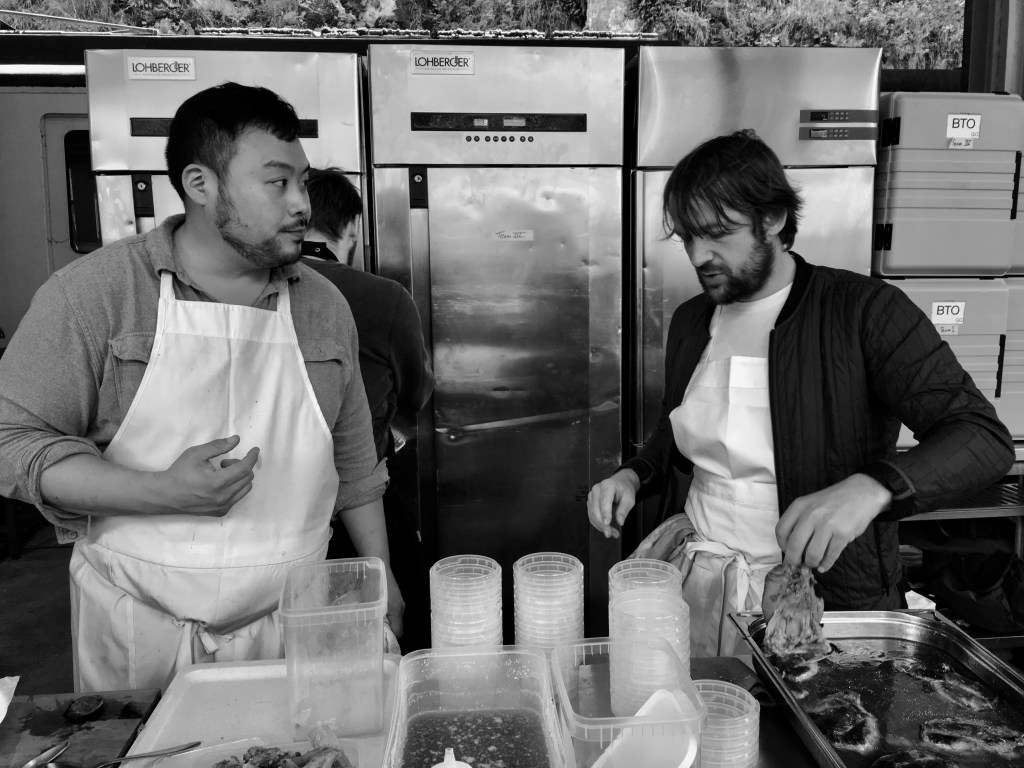 "David Chang on GELINAZ! ""It is stressful but it is a small price to pay for hanging around with friends"""