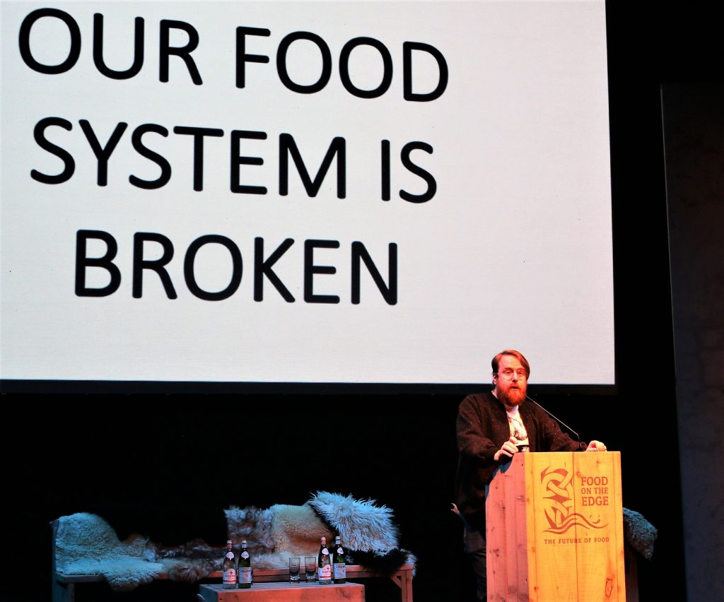 Food on the Edge and reinventing the food congress
