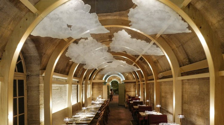 Chefs Alain Ducasse and Yannick Alleno cook on opening of Massimo Bottura's Refettorio Paris
