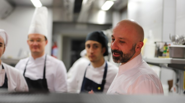 Italian chef Niko Romito wants to change the way we eat in hospitals and canteens
