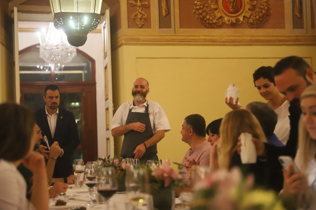 Tim Butler in series of charity dinners in Malta