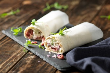 Wrap med vitello tonnato