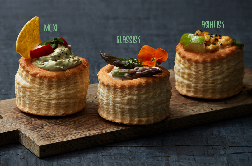 Mexicanske Chick Free vol au vents
