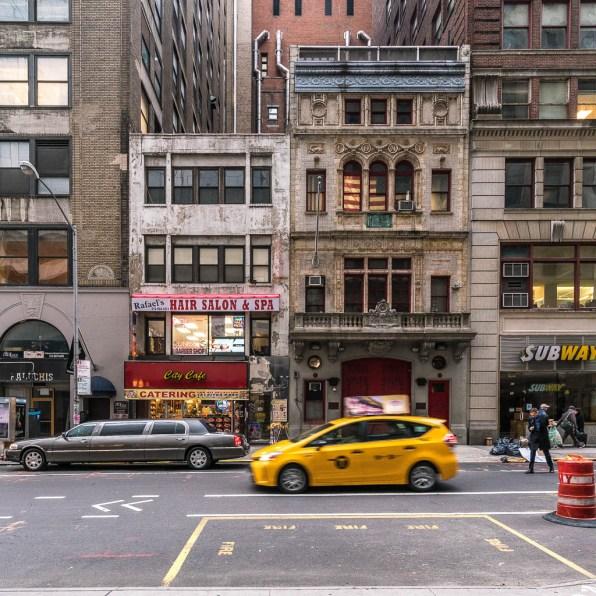 Häuseransicht in Manhattan.
