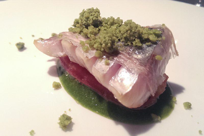 mackerel and iberico