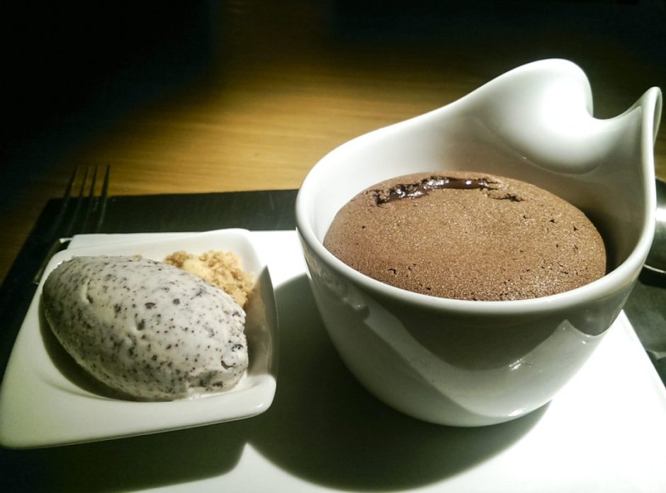 Roca Bar black chocolate coulant