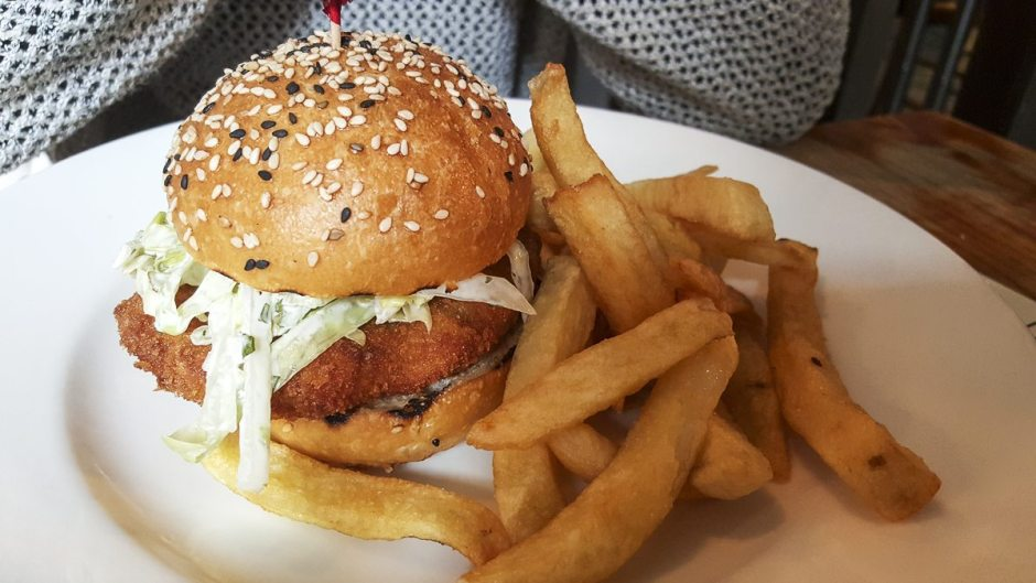 Fish burger Broad Chare