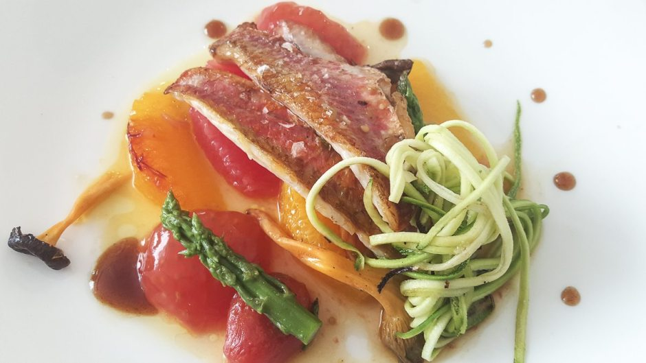 Red mullet La Mar Salada