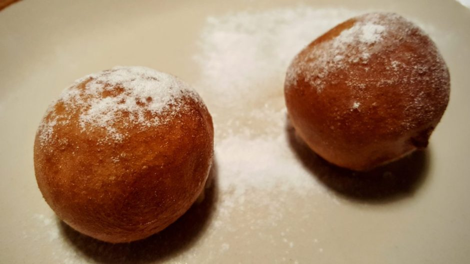 Yuzu buñuelos - 4 amb 5 Mujades