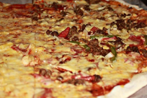 "Best Seller ""Calda"" Pizza"