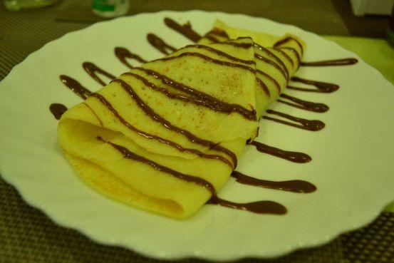 Zabs Buffet - Banana Crepe