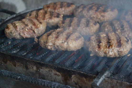 Gino's Burger - Charcoal Grilled Patties