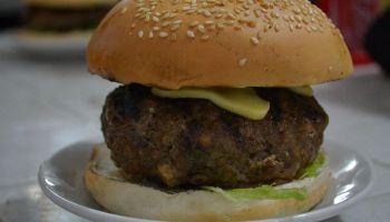 Gino's Burger - Stuffed Burger