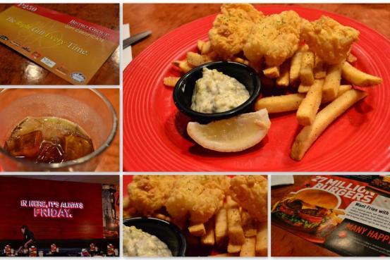 T.G.I. Fridays - Fish and Chips with Tartar Sauce - Selections