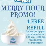 Food Blog Showcase: Yoh Froz Merry Hour Promo