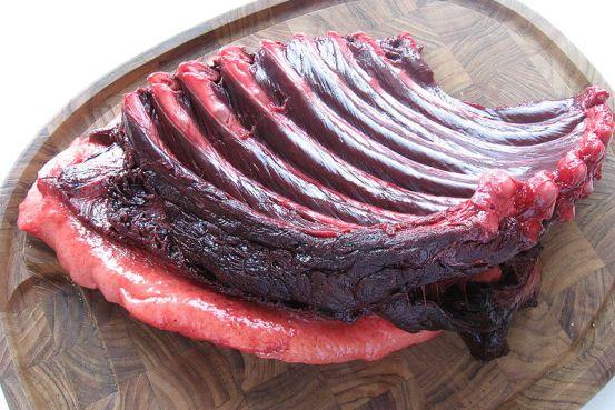 Phoeca groenlandica piece of meat