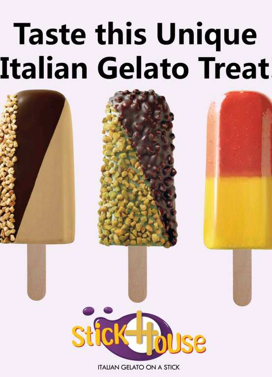 stickhouse gelato on stick - italian gelato treat