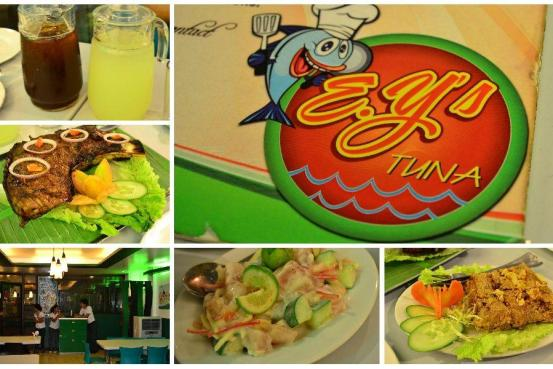 E.Y's Tuna - All Menu