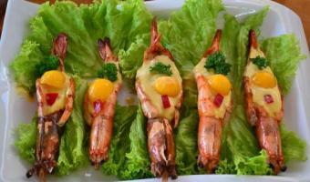 Shrimp in Mango Sauce